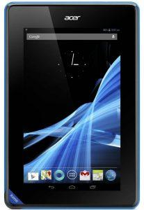 Tableta Acer Iconia B1- vedere frontala