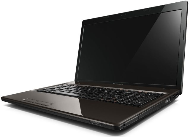 Laptop Lenovo G580 - Intel Core 3 profil DVD