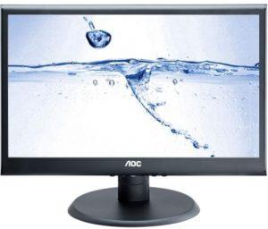 "Sistem PC ieftin Monitor LED AOC 18.5"", Wide, Negru, E950SWN"