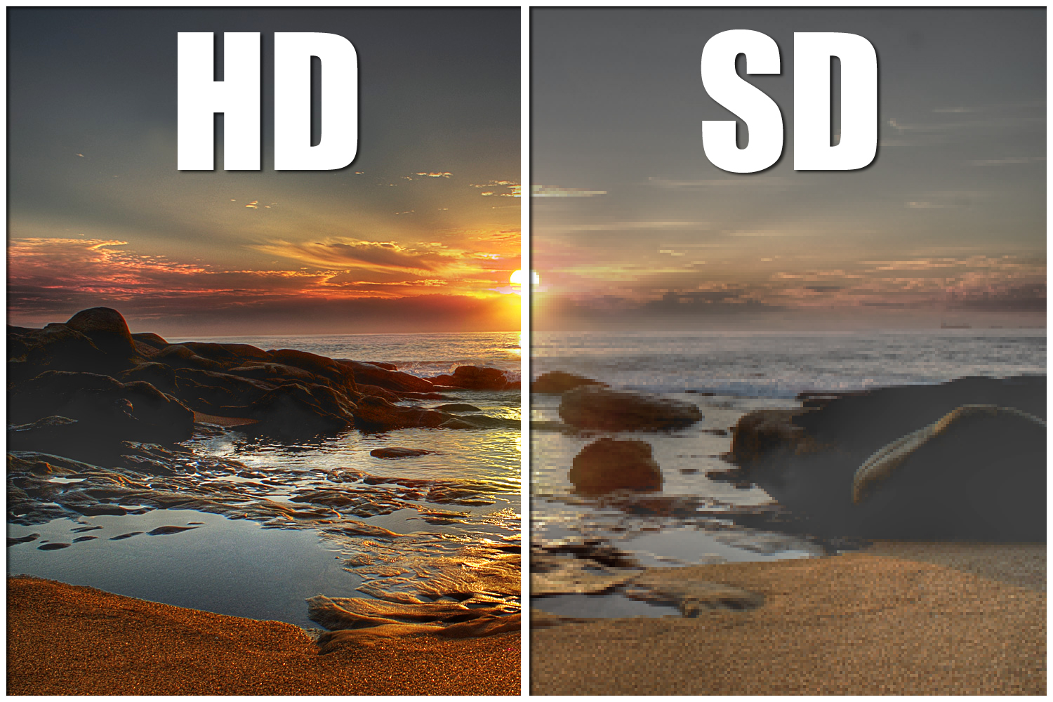 SD vs HD
