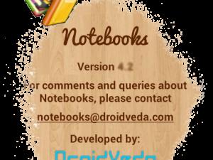 Notebooks pentru Android