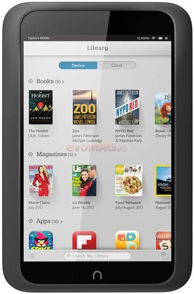 Tableta Nook HD Neagra