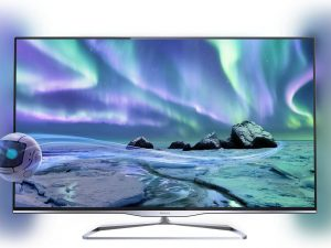 Televizor LED Smart TV 3D Philips, 106 cm, Full HD, 42PFL5008K