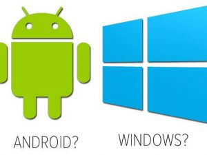 Tableta Android sau tableta Windows