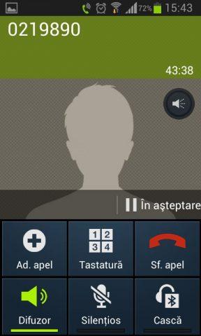 Asteptare apel Telekom