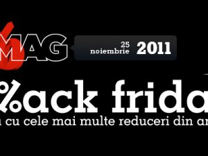 Inceputul Black Friday in Romania