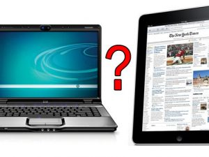 Laptop sau tableta?