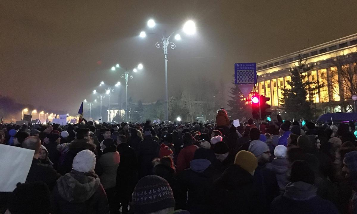 Proteste Romania - lectia de democratie