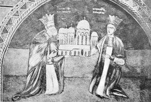 Matei Basarab si Doamna Elena