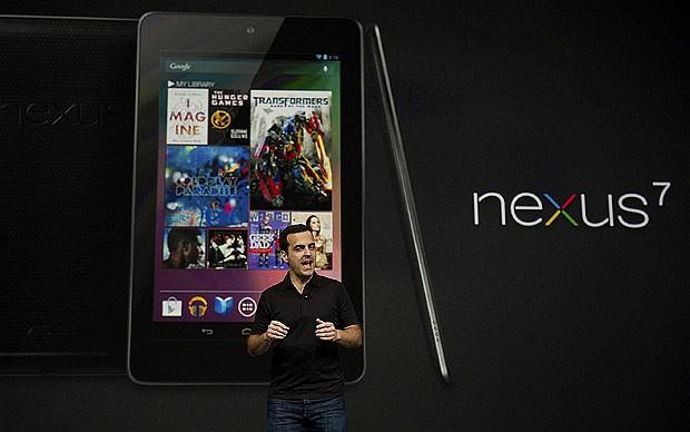 Google Nexus 7 de la Asus