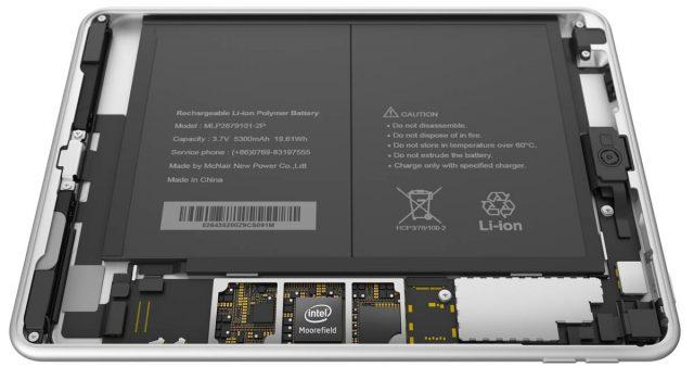 Tableta Nokia N1 demontata