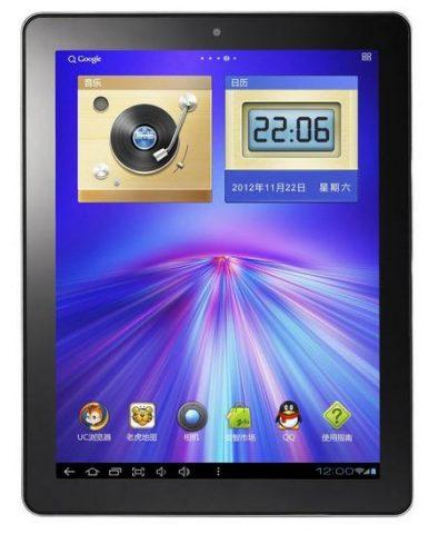 Tableta PC Onda V 972 img 2 fata negru