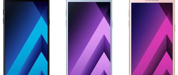 Telefoanele din seria Samsung Galaxy A 2017: Galaxy A3, Galaxy A5 si Galaxy A 7