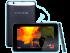 Tableta Evotab HD de la Evolio - vedere fata, spate, profil