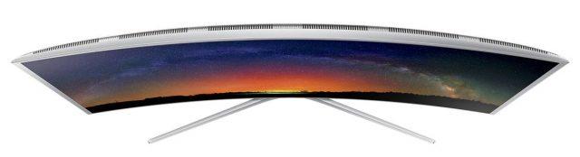 Vedere de sus Seria TV SUHD Curbat Smart 3D Samsung JS9000