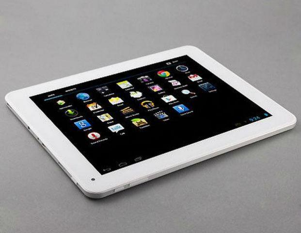 Tableta PC Window N90FHD img 4 semiprofil alb